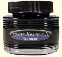 Tanzanite Blue Private Reserve Bottled Ink