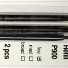 Parker Style Ballpoint Ink Refill Green Fine Point 2 Pack