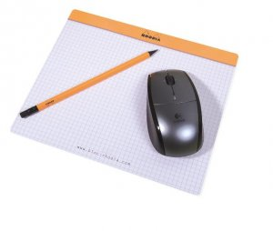Rhodia Mouse Pad / Note Pad