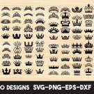 Tiara Digital Art SVG, PNG, dxf, jpg Digital Download
