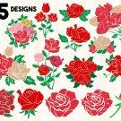 Rose bundle Digital Art SVG, PNG, dxf, jpg Digital Download