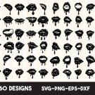 Dripping Lips, Lips bundle Digital Art SVG, PNG, EPS, dxf, jpg Digital Download