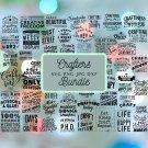 50 Crafters Bundle Digital Art SVG, PNG, dxf, jpg Digital Download