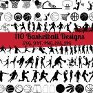 Basketball Bundle Digital Art SVG, PNG, EPS, dxf, jpg Digital Download