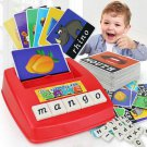 Kids Letters Alphabet Game English Learning Cards Toys Children's Figure Spelling Game
