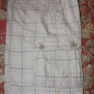 Plaid Cargo Shorts Size 12