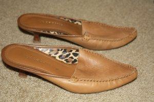 Liz Claiborne Leather Slides