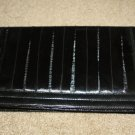 Black EEL Skin Clutch