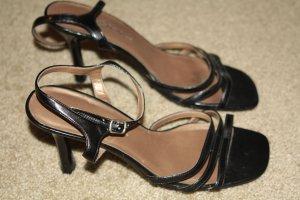 Black Strappy Dress Shoes