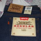 Levi's 505 Straight Leg Regular Fit Jeans ~New~