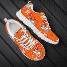 orange nurse women shoes, nursing shoes, gift for nurses, gift for her