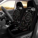 black boho design car seat cover, cover for car seat, car accesories
