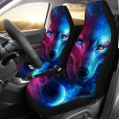 wolf at night car seat cover, cover for car seat, car accesories