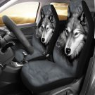 gray wolf car seat cover, cover for car seat, car accesories