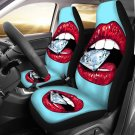 diamound in the mouth style car seat cover, gift for her, car accesorie
