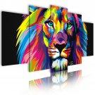 king lion canvas wall art, framed wall art, bedroom wall art, gallery