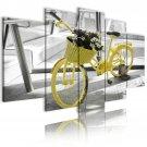 vintage bicycle wall art, framed wall art, living room art, gallery art