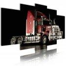 truck wall art, cross racing wall canvas art, gift for him, garage art