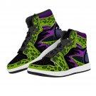 snake skin design men women high top custom sneakers, run shoes