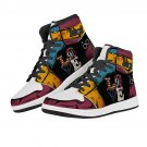love design men women high top sneakers, custom shoes, run shoes