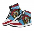 high top air force 1 style custom sneakers, men shoes, women shoes