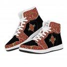 boho design sneakers, men shoes, women shoes, modern custom sneakers