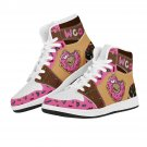 lovely donuts design air force 1 style sneakers, men women shoes