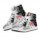 best design on men women sneakers, high top shoes, bohemian design