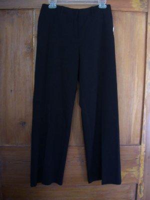Womens New Madison Studio Petite Black Pants 4P