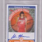 2005 2006 Adam Morrison Topps Rookie Photo Shoot Auto BGS 9.5/10