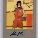 2005 2006 Adam Morrison Turkey Red Autograph RC Rookie