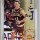 "1996 Steve Nash Skybox Auto 1/400 First Card signed ""Sign Here"" RC Rookie 1/1"
