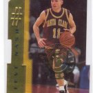 1996/1997 Steve Nash Santa Clara Die Cut 15 of 30 RC Rookie