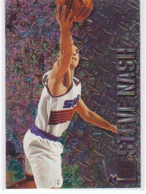 1996 1997 Steve Nash Fleer Metal #205 RC Rookie
