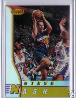 1996 1997 Steve Nash Bowmans Best #R18 RC Rookie