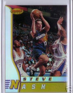 1996 1997 Steve Nash Bowmans Best #R18 RC Rookie