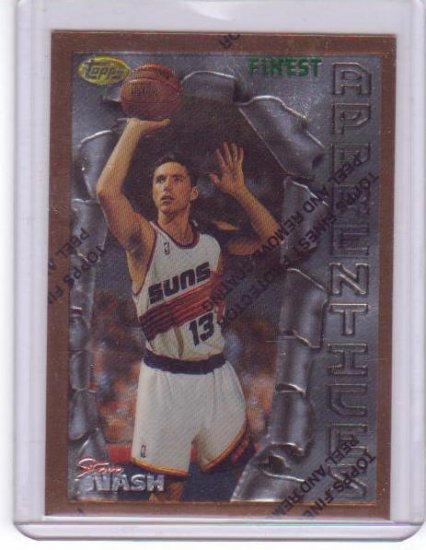 1996 1997 Steve Nash Finest #75 RC Rookie
