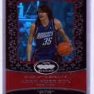 2007 2008 Adam Morrison Echelon Red 35/50 Jersey Number 1/1 RC Rookie