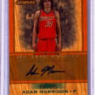 2007 208 Adam Morrison Trademark Moves Wood Auto 10/25