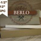 "1-1/2"" Wood Dowel Rods (38 mm), 12"" Long Beech Wood Pegs (30cm), Set Of 5 PCS"