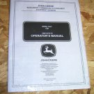 John Deere 17P Utility Cart Operator's Manual