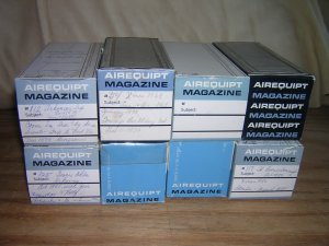 8 Automatic Airequipt Slide Holder Magazines