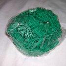 KNEX 100 piece Lot of Green Connectors