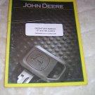 John Deere 721 and 726 Tractor Loader Operator's  Manual