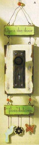 folk-art door plaque