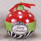 Christmas Ornament Goodie Jar