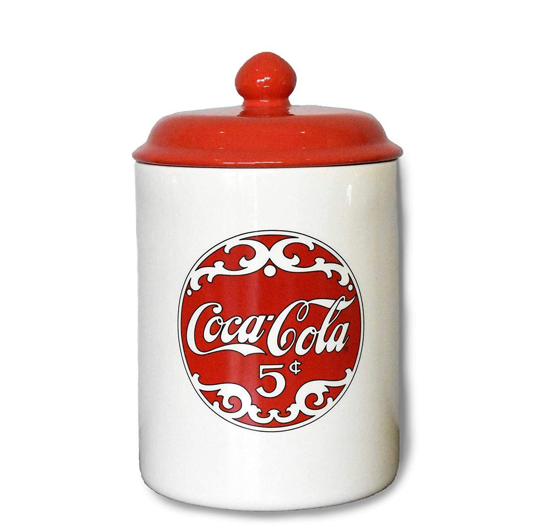 Coca Cola 5¢ Ceramic Cookie Jar