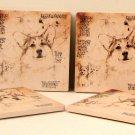 Corgi Coasters Set of 4