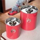Pet Food Storage Canister Set