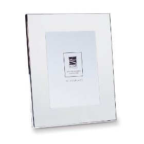 Lunt Wide Border Silverplated 8-by-10-Inch Picture Frame
